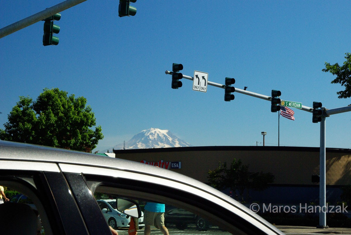 Mount Rainier From Far and Wide
