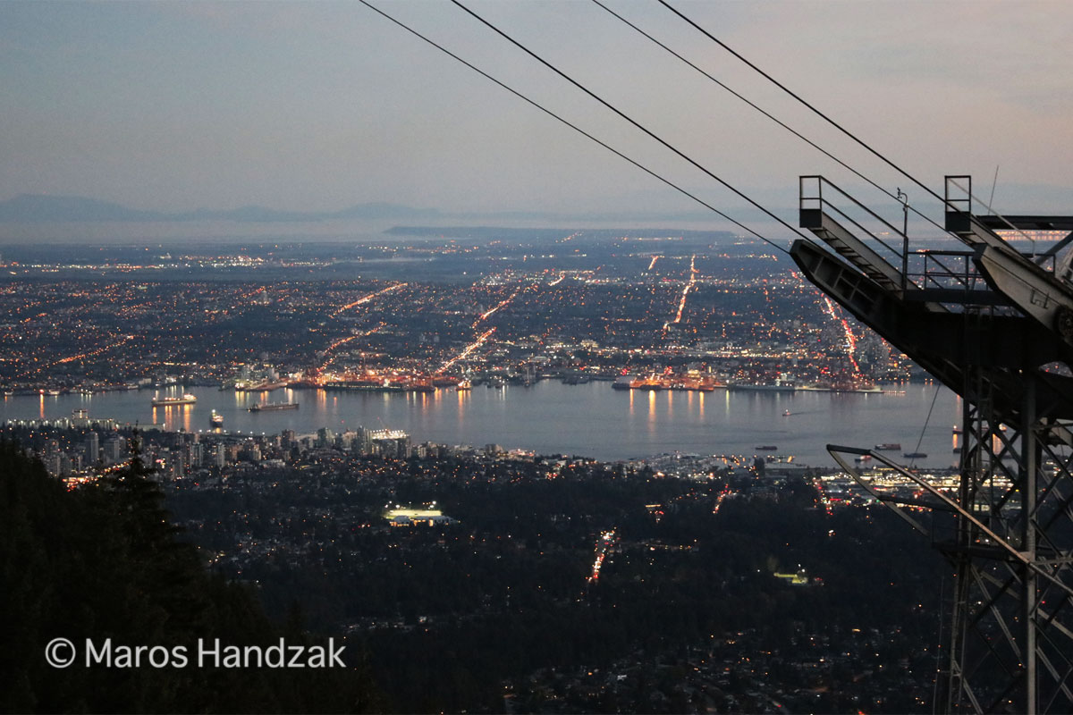 Vancouyver from Grouse Mountain