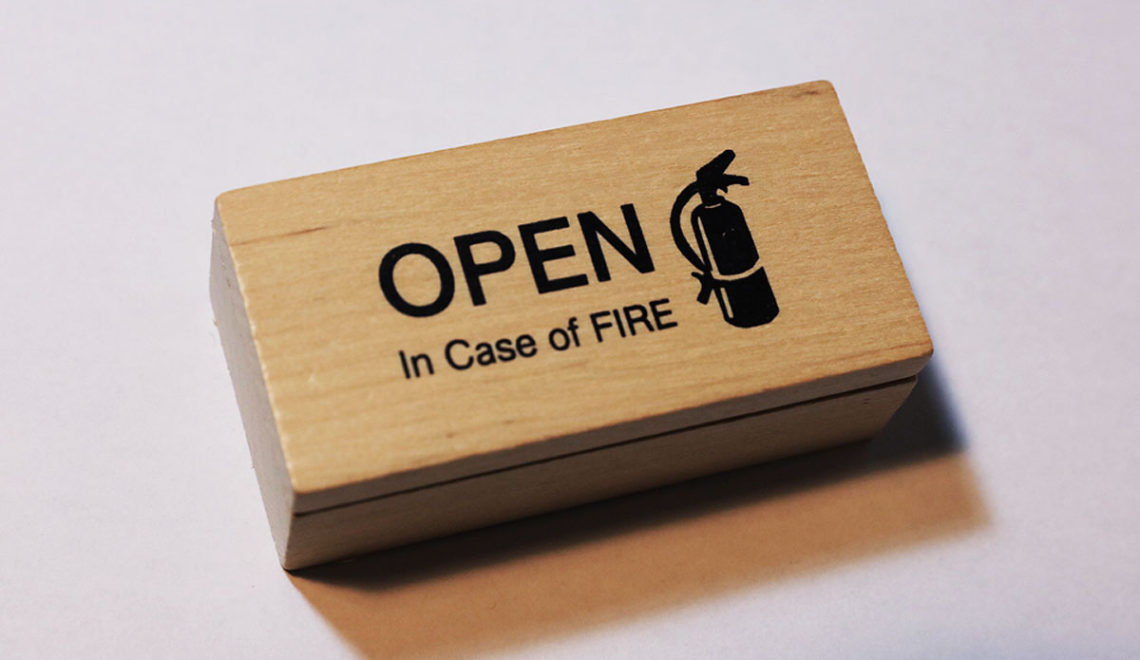 Open in Case of Fire