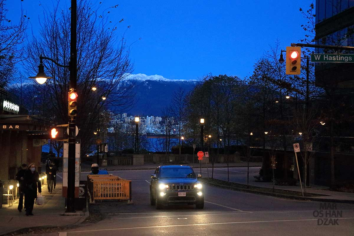West Hasting Street in Vancouver